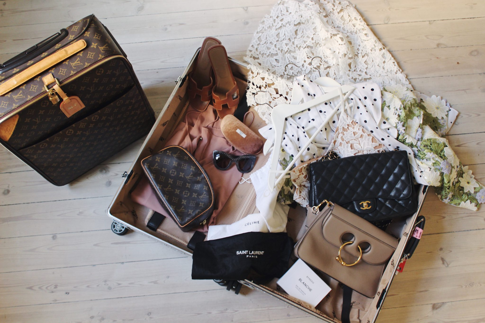 packa resväskan