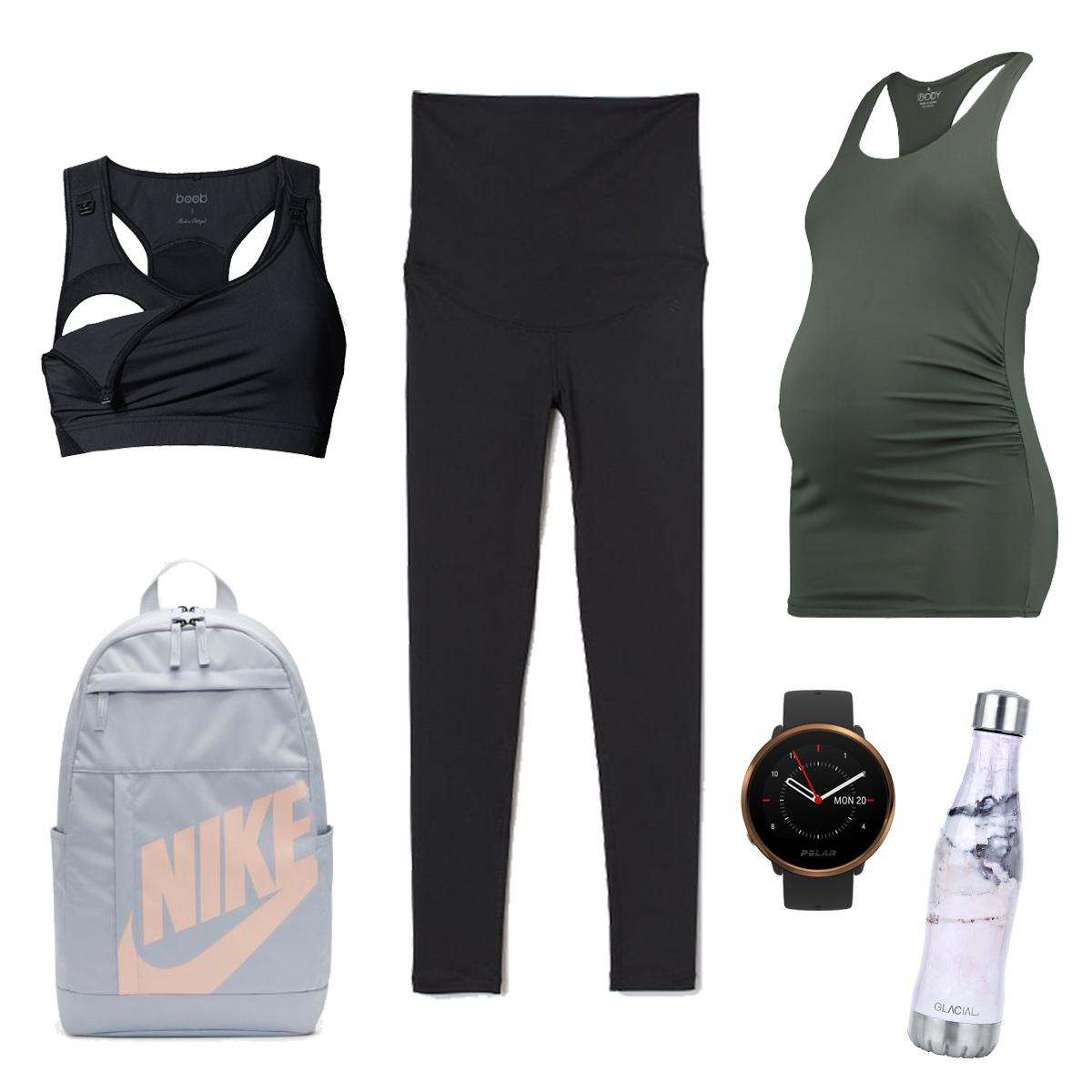 gravid träningskläder